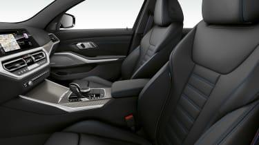 BMW M340i xDrive - front seats