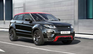 Range Rover Evoque Ember front tracking