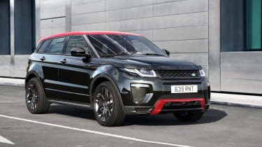 Range Rover Evoque Ember front tracking