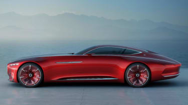 Mercedes-Maybach 6 concept coupe - side