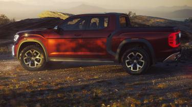 Volkswagen Atlas Tanoak concept - side