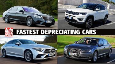 Fastest depreciating cars