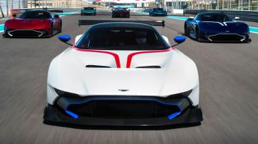 Aston Martin Vulcan - track