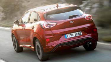 Ford Puma - rear tracking