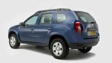 Used Dacia Duster - rear