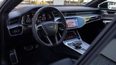 Audi A7 Sportback 55 TFSI e - dash