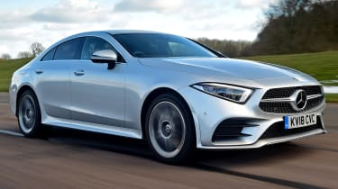 Mercedes CLS front