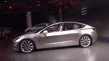 Tesla Model 3 reveal - side