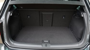 Boot space is identical to the regular Golf at 380 litres.