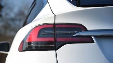 Tesla Model X - rear light detail