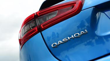 Nissan Qashqai - taillight