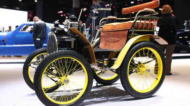 1st Renault 1898 - Paris Motor Show
