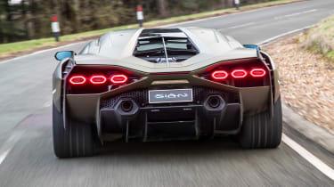 Lamborghini Sian - full rear