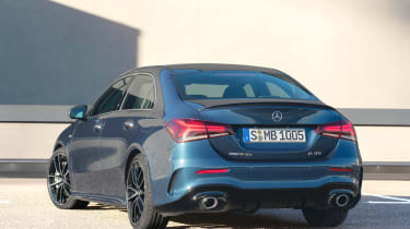 Mercedes-AMG A 35 Saloon - rear static
