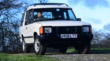 Land Rover Discovery Mk1 - front