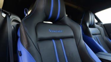 Aston Martin Vantage seat