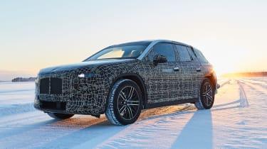 BMW iNEXT teaser - front cornering