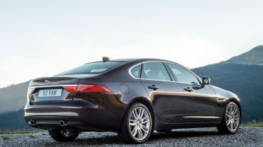 Jaguar XF Portfolio - rear static
