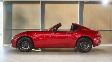 Mazda MX-5 RF Launch Edition side roof down