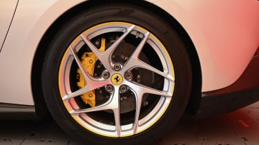 Ferrari SP3JC - wheel Goodwood 2019