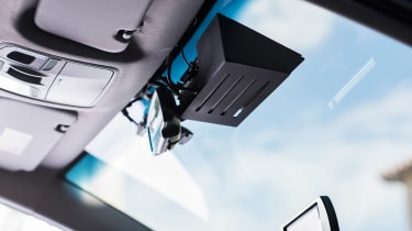 Hyundai Ioniq autonomous - front sensor