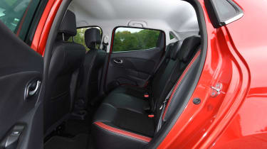 Renault Clio - rear seats