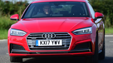 Twin test - Audi A5 - front