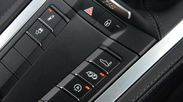 Porsche 718 Cayman 2016 - centre console