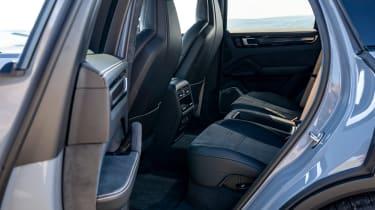 Porsche Cayenne Coupe Turbo GT - seats