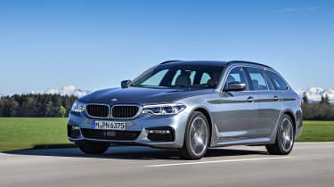 BMW 530d Touring - front action