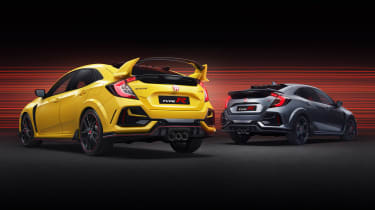 Honda Civic Type R Limited Edition and Type R Sport Line
