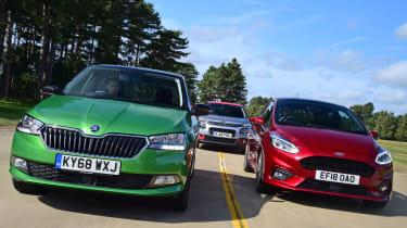 Skoda Fabia vs Ford Fiesta vs Citroen C3 - Tracking
