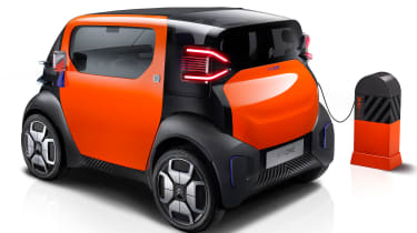 Citroen AMI ONE concept - rear charging