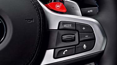 BMW M5 - steering wheel controls