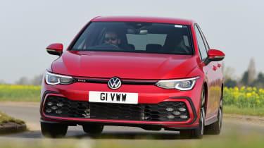 Volkswagen Golf GTI manual - front cornering