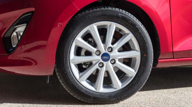 Ford Fiesta diesel review - wheel