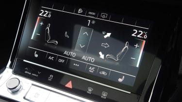 Audi e-tron S - climate control