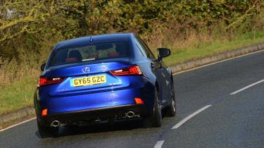 Lexus IS 200t F Sport rear