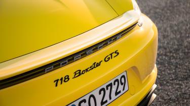Porsche 718 Boxster GTS - rear