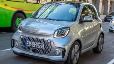 Smart EQ ForTwo - front tracking