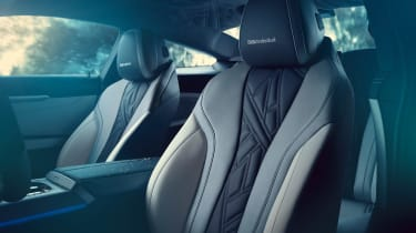 BMW M850i Night Sky - seats