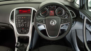 Used Vauxhall Astra - dash