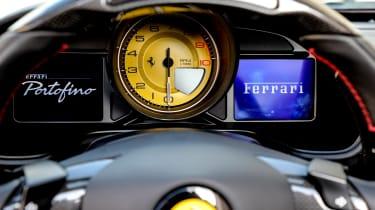Ferrari Portofino - dashboard