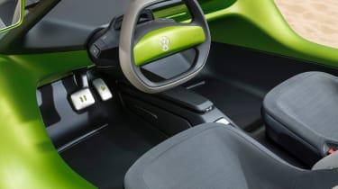 Volkswagen ID. Buggy concept - dash