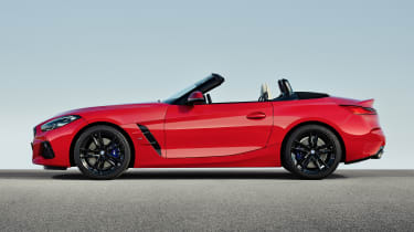 BMW Z4 - profile roof down