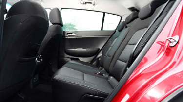 Kia Sportage - rear seats