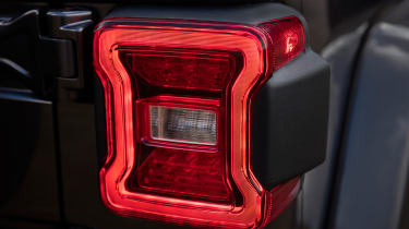 New Jeep Wrangler - taillight