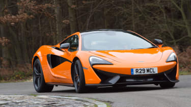 McLaren 570S first UK drive - cornering
