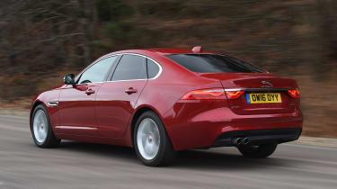Jaguar XF long term - second report rear