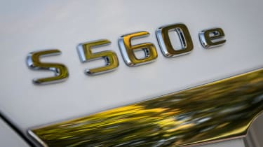Mercedes S 560 e - S 560 e badge
